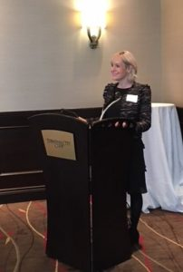Pivot HR Services' CEO Robin Turnill presents on corporate culture creation to the BCLMA.